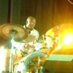 Ayanda Sikade on drums