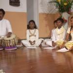 On tabla Debhashis Das.