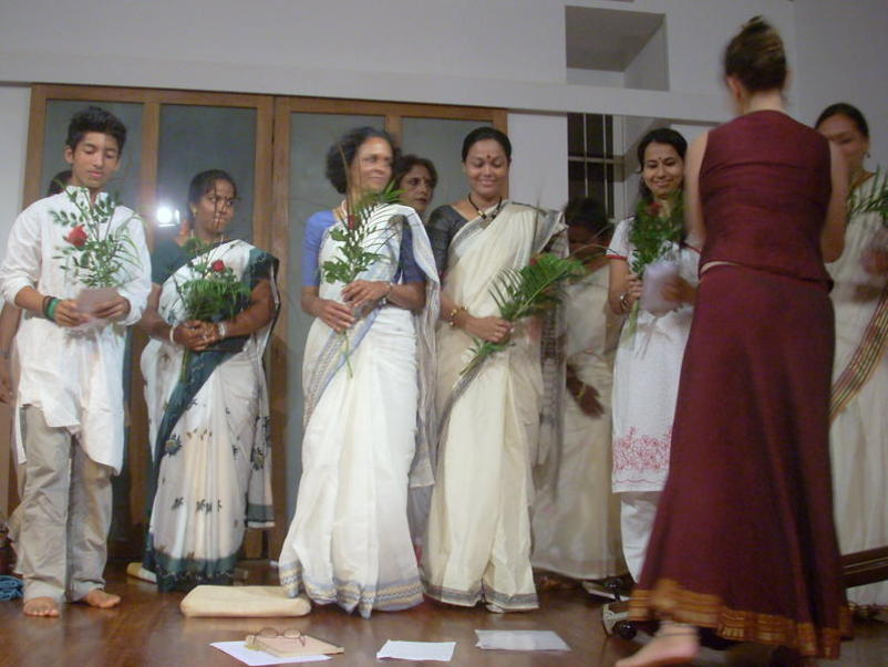 Photographer:Andrea | Flowers was given to all the members of the choir.