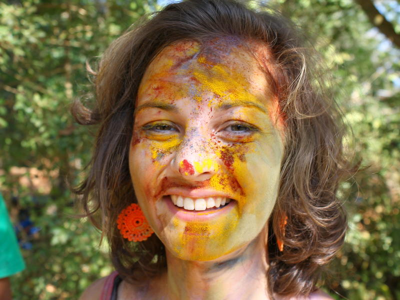 Photographer:Julie | Happy Holi, the Festival of colors.