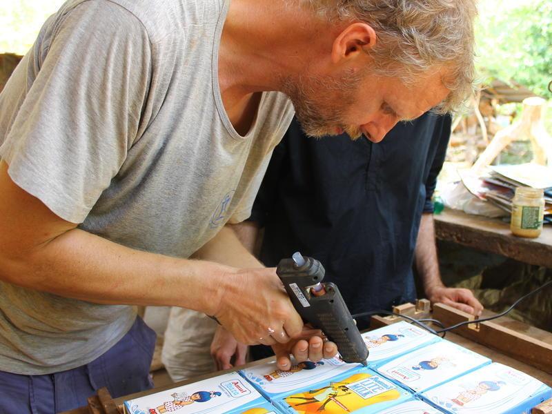 Photographer:Julie | Marc a donne un workshop dimanche dernier au Youth Center.