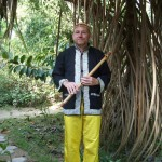 Kees with the Bansuri