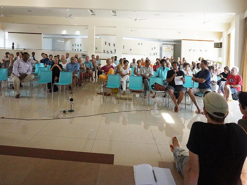 Photographer:Girogio | General  Meeting at Unity Pavilion