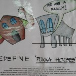 Cartoon Exhibition on Affordable Housing in Auroville