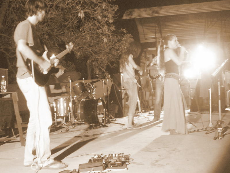 Photographer:Andrea | On the stage Anna Taj, Edo, Inga