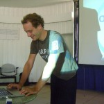 Eco Earth Day Talks in Conference Room in Town Hall