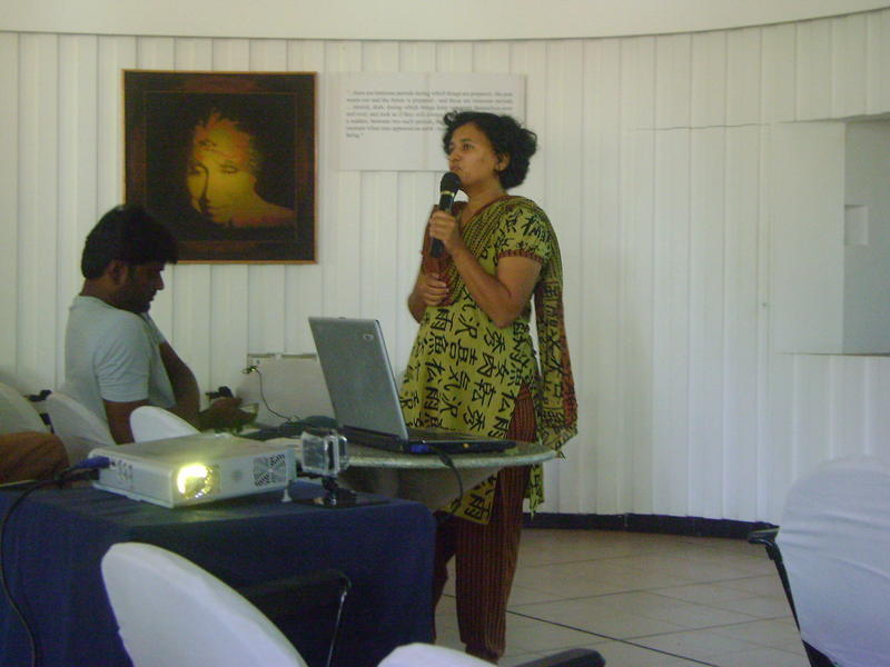 Photographer:Gaia | Eco Earth Day Talks in Conference Room in Town Hall
