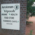 Sign for Kipaak Farmer's Cafe and store