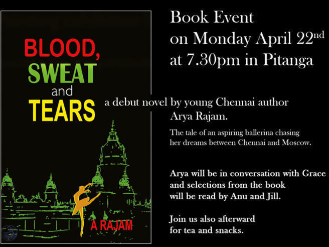 Photographer:web | Blood , Sweat and Tears at Ptianga 22. at 7.30pm