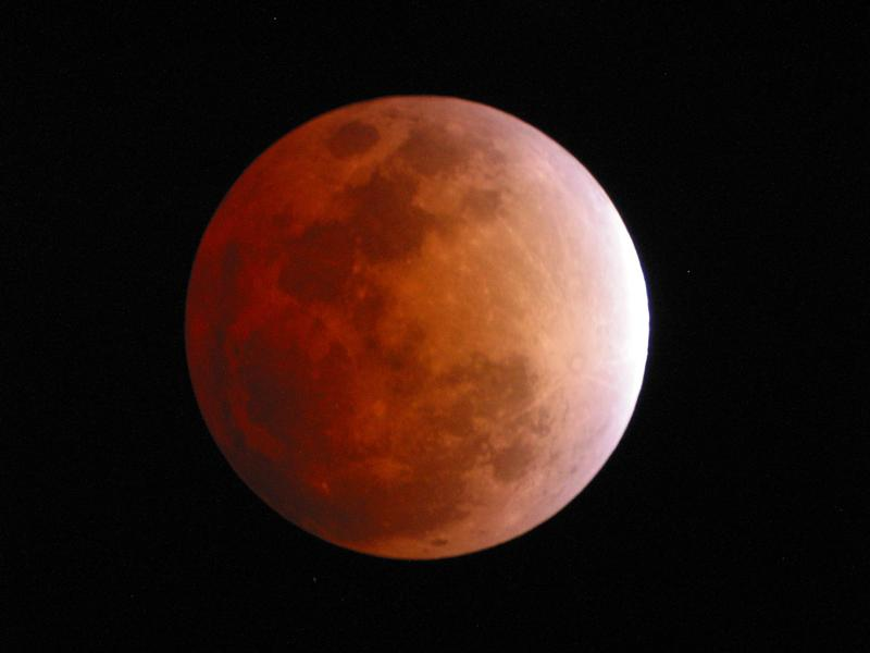 Photographer:web | Full Moon with Partial Lunar Eclipse after midnight