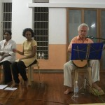 Jivatman singing with classical guitar