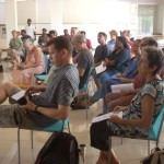 At the meeting were present members of the Auroville Council and the Housing Service.