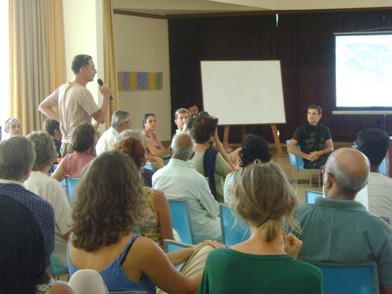 Photographer:Tabitha | General Meeting on Violence in and around Auroville