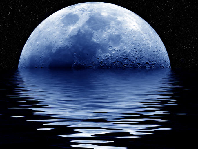 Photographer:web | Full Moon on 22nd in Aquarius