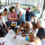 one of previous meeting of TDC/L'Avenir d'Auroville