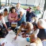 one of previous meeting of TDC/L'Avenir d'Auroville