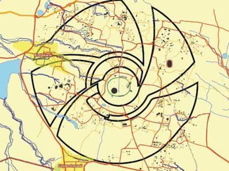 Photographer:web | map of Auroville