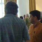 Mr. Aromar Revi at Unity Pavilion