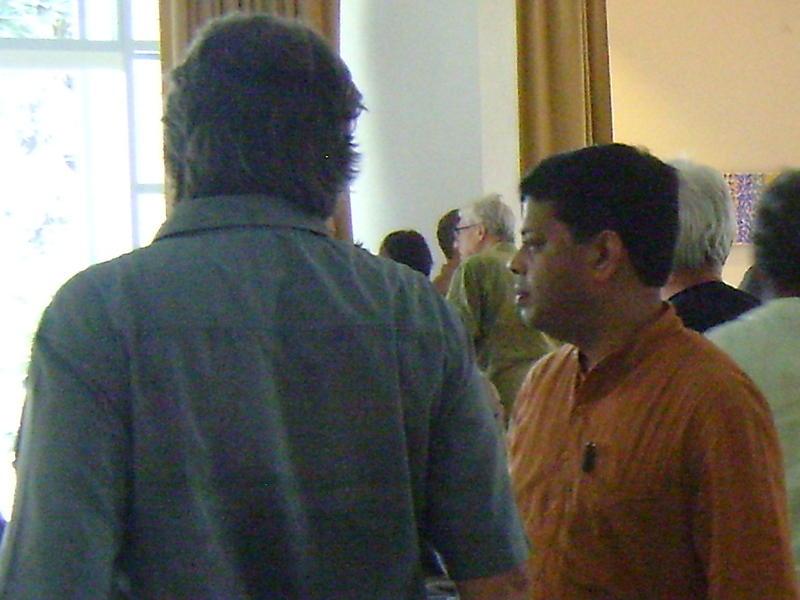 Photographer:web   Mr. Aromar Revi at Unity Pavilion