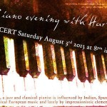 <b>Piano Evening and Entry</b>