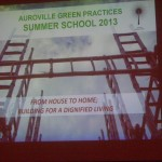 AV Green Practices Summer School - From House to Home Building for a Dignified Living