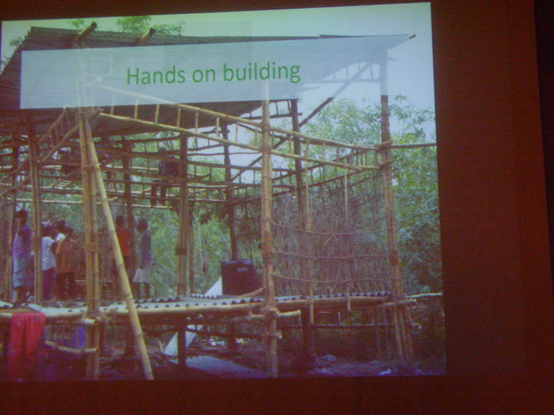 Photographer:Tabitha | AV Green Practices Summer School - From House to Home Building for a Dignified Living