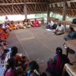 Herbal production group at Nadukuppam