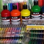 art supplies donated by Art Is Moving