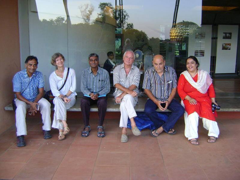 Photographer:Tabitha | Judges of Auroville Film Festival 13