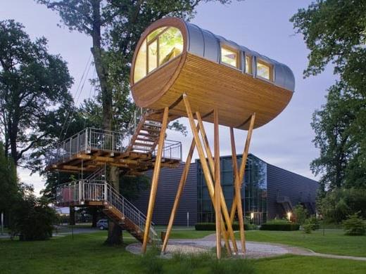 Photographer:web | Sustainable Living - baumraum-world-of-living-treehouse