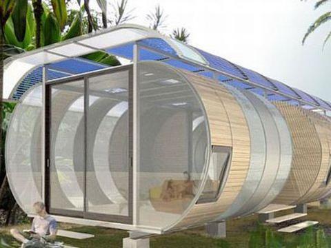 Photographer:web | Sustainable Living - eco capsule