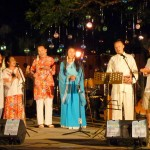 Chinese performing a folk song.<br />