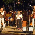 The Tibetan performed a song about the Dalai Lama.