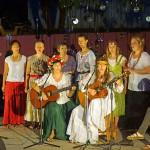 All girls Russian, Belorussian & Ukranian singing group.