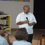 Mr Bala Baskar secratary of Auroville Foundation