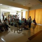 Mr Bala Baskar secratary of Auroville Foundation speach