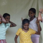 Happy Dancing children<br />
