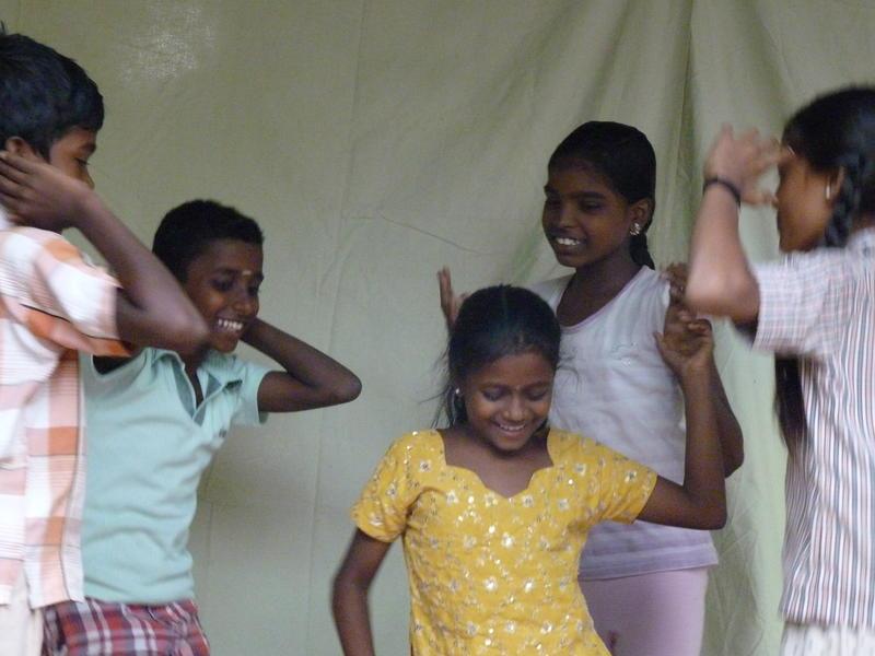 Photographer:Youri | Happy Dancing children<br />