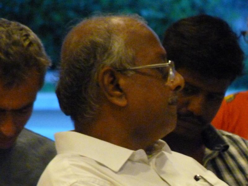 Photographer:Patrick | Mr. BAlaBaskar, secretary of Auroville Foundation