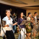 A Lo Latino, Columbian Music Band with 13 musicians from 4 different continents in International Zone