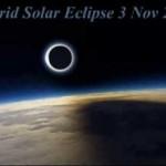 Hybrid Solar Eclipse on Sunday 3rd of November