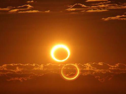 Photographer:Alma | Hybrid Solar Eclipse on Sunday 3rd of November