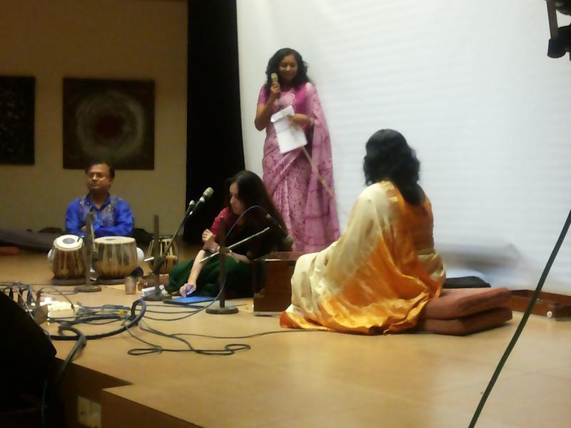 Photographer:Patrick | Viraj Amar accompanied by Ujjal Roy and Lakshmi Santra<br />