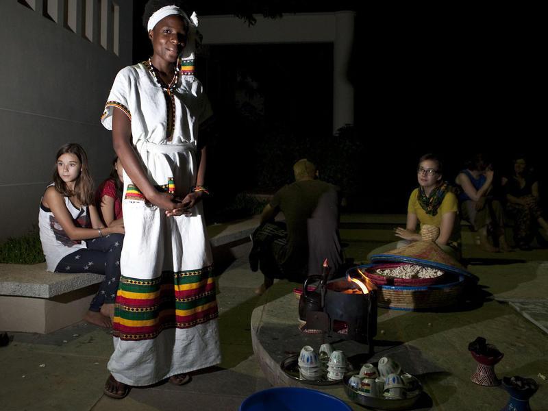Photographer:Andrea Kunkl | Ethiopian dress