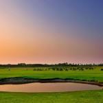Munnur Sunset on the lake