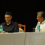Dr. Karan Singh and Prof. Manoj Das