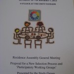 2nd General Meeting on a proposed New Selection Process for the Workin