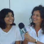 Ahelia and Sandrine<br />