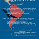 LATINOAMERICA - Inauguration of cultural activities 11.12.13