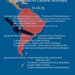 LATINOAMERICA - Inauguration of cultural activities 11.12.13